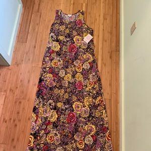 LulaRoe Floral Dani Dress